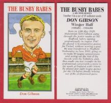 Manchester United Don Gibson